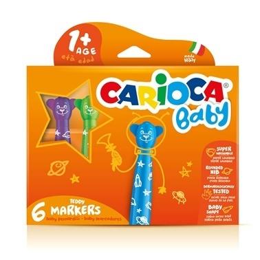 Carioca Bebek Keçeli Boya 6lı Renkli